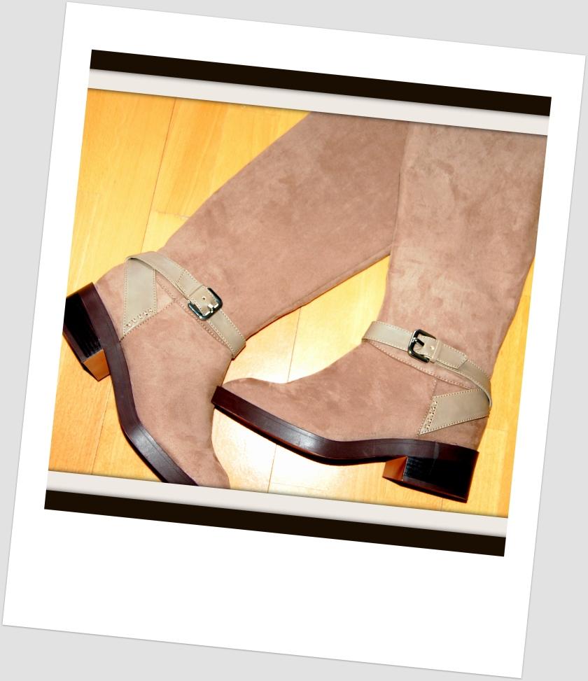 Bargain Zara boots.