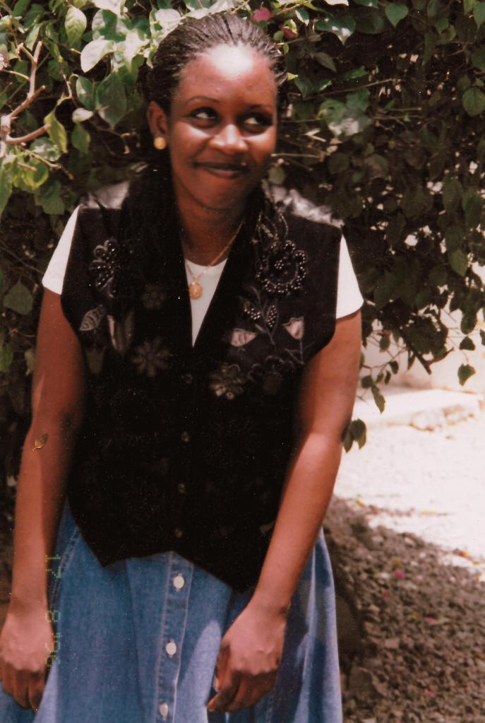 Yvonne, aged 24.